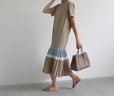 마로 플리츠 _ dress (2color/free)
